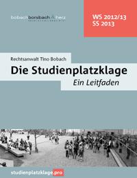 Studienplatzklage zum Wintersemester 2016/17